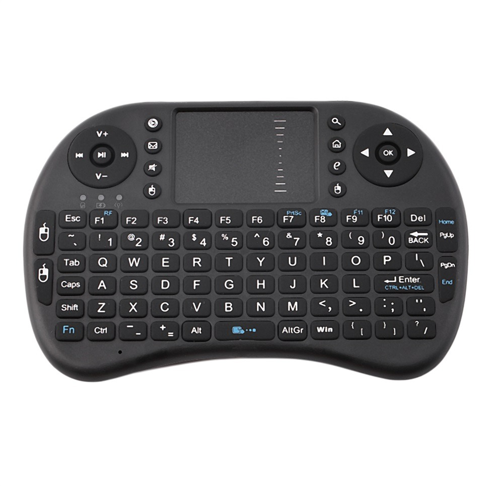 Mini Wireless Keyboard 2 4g With Touch Pad Handheld