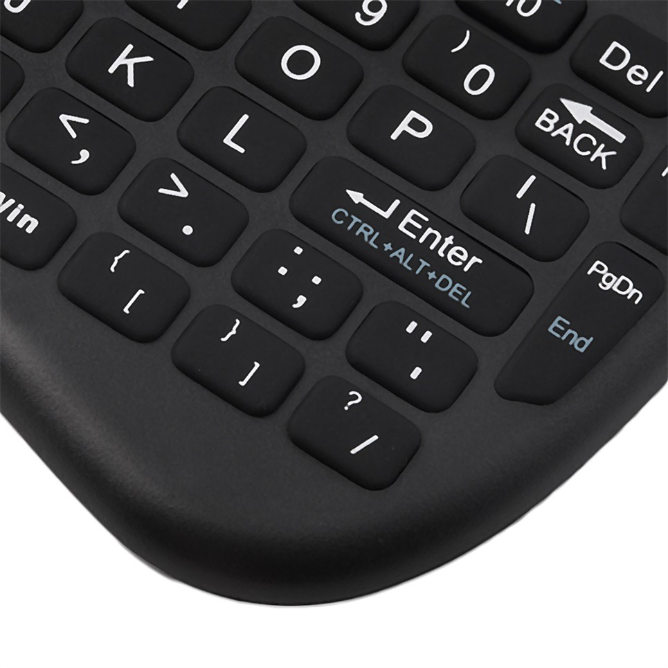 Buy Mini Wireless Keyboard 2 4g With Touch Pad Handheld